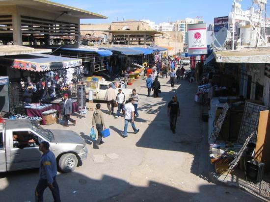 Medina : Part of the main market.
