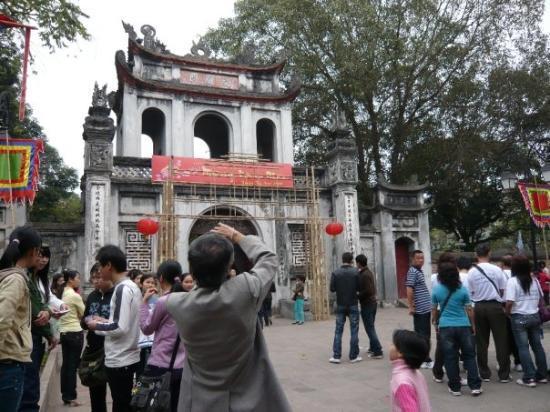 Litteraturtempelet og nasjonalt universitet: Temple of Literature