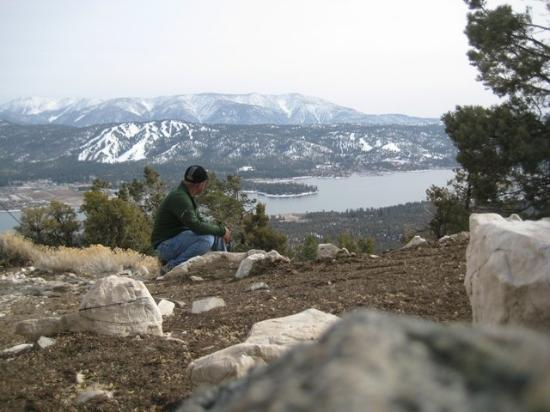 Big Bear Region, Kalifornien: At Bertha Peak.