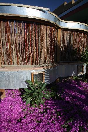 Blackstone Hotsprings Lodging & Baths: screened porches