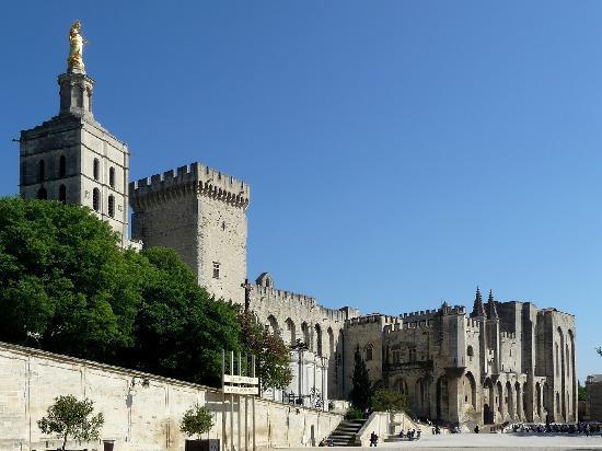 Αβινιόν, Γαλλία: Le palais des Papes
