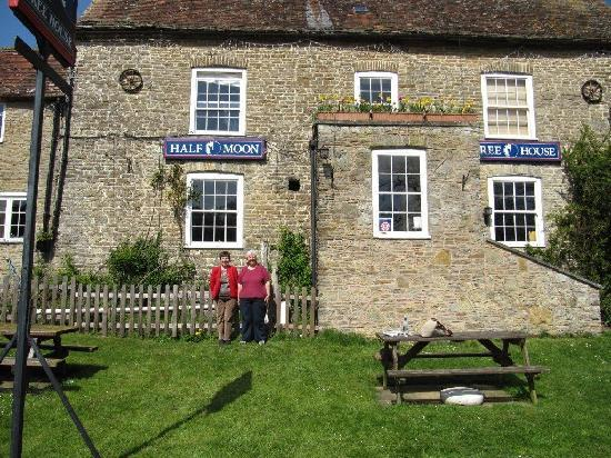 The Half Moon Inn: stranded in comfort