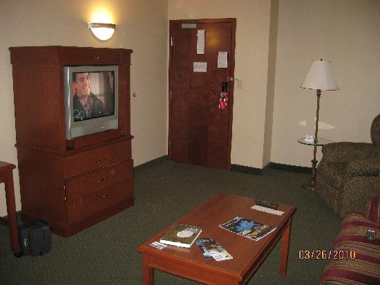 Drury Inn & Suites St. Louis O'Fallon, IL : Suite Parlor