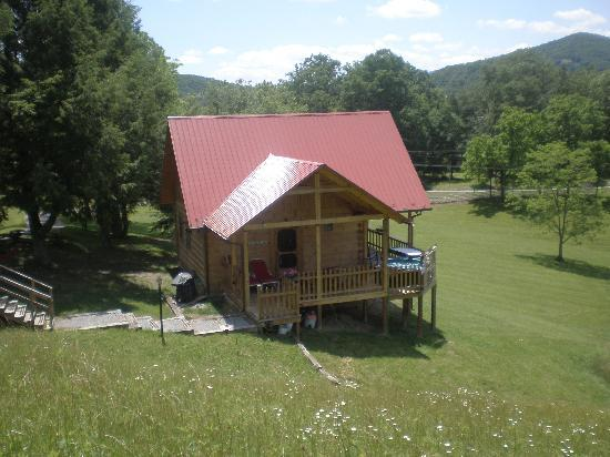 Marlinton, Virginia Barat: The beautiful Dam Cabin