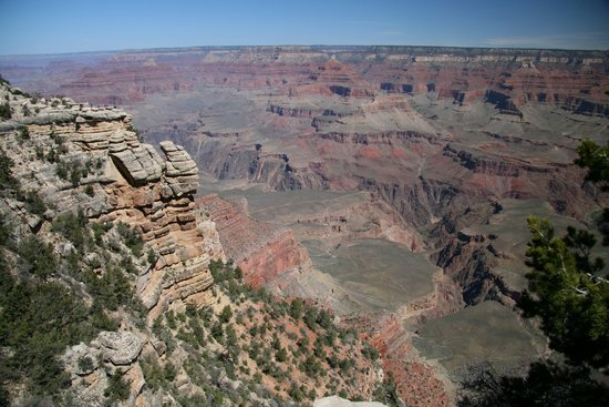 Taman Nasional Grand Canyon, AZ: Mathers Point looking west