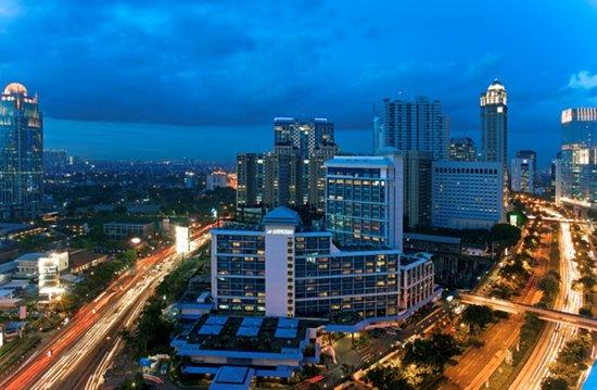 Le Meridien Jakarta: Exterior