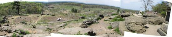 View from Little Round Top, Gettysburg, PA, United States