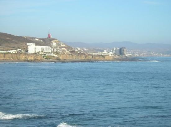 La Fonda, المكسيك: Baja coast from Calafia