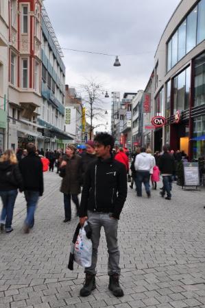 Osnabrück, Germania: dekat street.. neue markt.. pasar baru