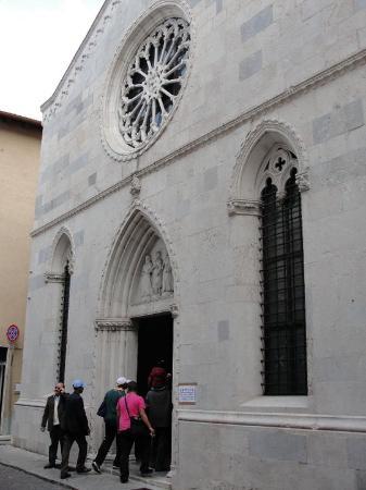 San Daniele del Friuli, อิตาลี: Chiesa (iglesia) di Sant'Antonio Abate... 2010-04-17