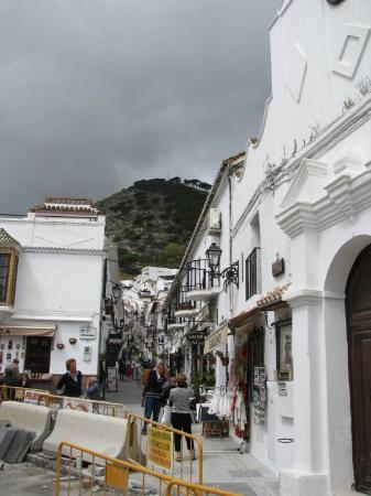 Михас, Испания: Mijas (Mikhas),  Andalusia, South of Spain.