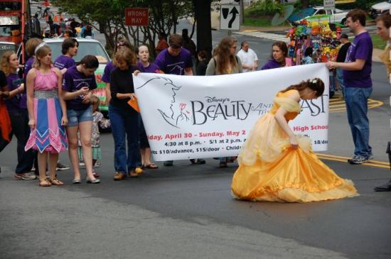 Parade in Charlottesville, VA
