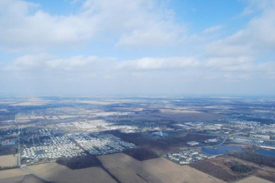 West Lafayette, IN: Epic Landscape. Yes, this is a real, unmodified picture from one of my flights. Flying is that a