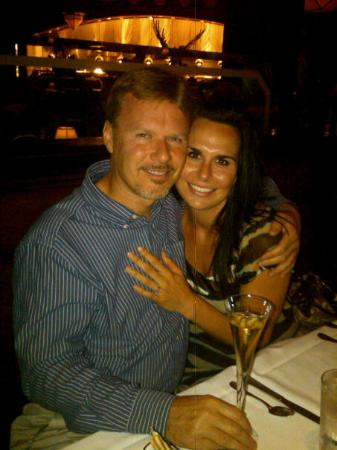 The Capital Grille: Check out the ring! Krystal said yes on Saturday night, May 1st at Capital Grille, Charlotte!