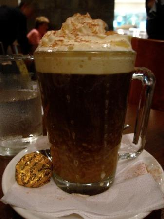 The Executive Inn: First time I had an Irish coffee.. It was quite strong.