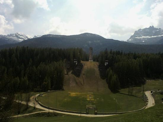 Cortina D'Ampezzo, Italia: Olympiaschanze in Cortina