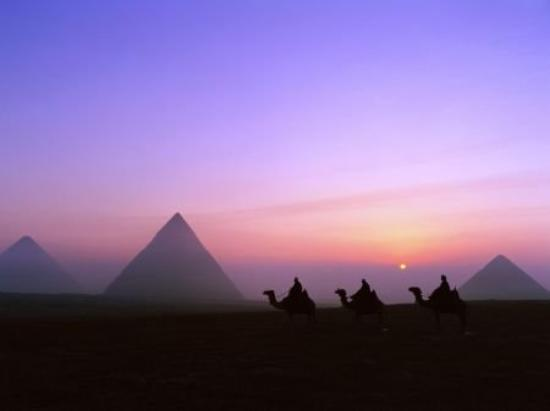 Pyramids of Giza Photo