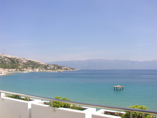 Baska, Croacia: Vista