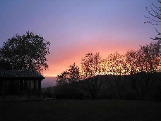 Locanda del Gallo: the best sunset ever