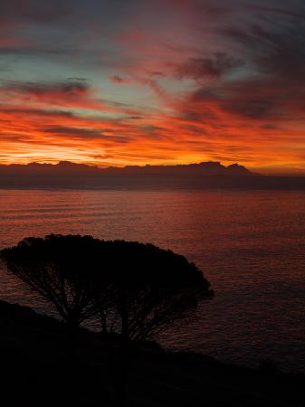 Gordon's Bay, Sudáfrica: The sunset from our room!