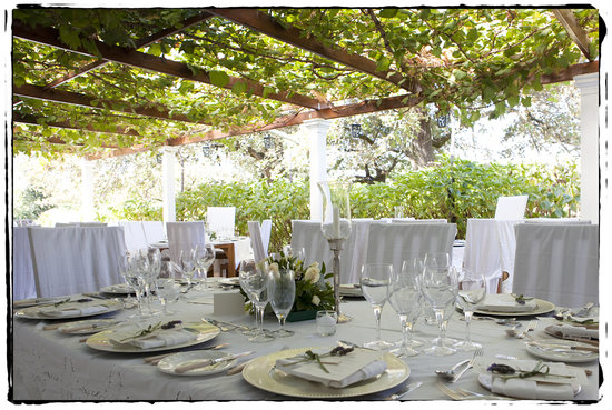 Palmiet Valley Wine Estate & Boutique Hotel: terrace