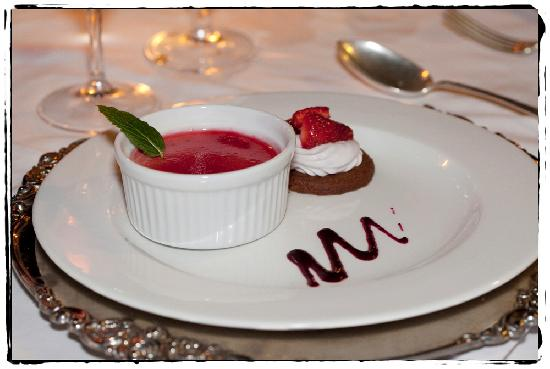 Palmiet Valley Wine Estate & Boutique Hotel: dessert