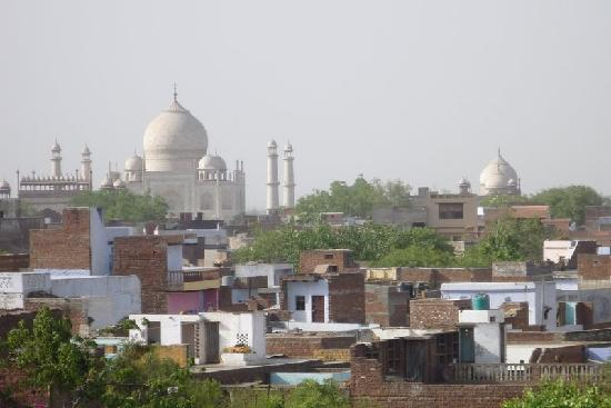 ITC Mughal, Agra: View from the roof