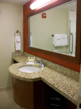 Chevy Chase, MD: our bathroom.