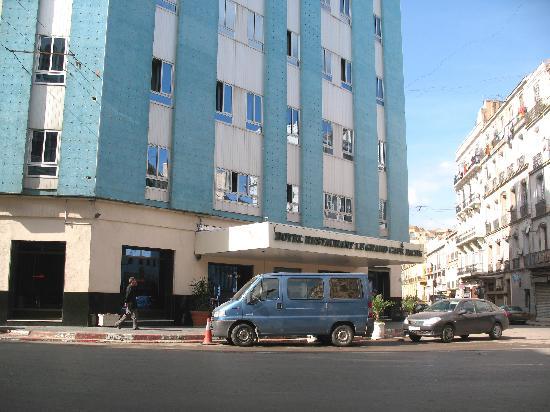 Hotel Timgad: En plein centre ville