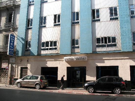 Hotel Timgad: Bien situé