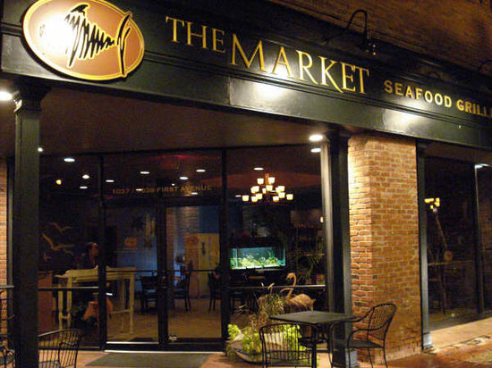 The Market UPtown Columbus: Our beautiful restaurant front