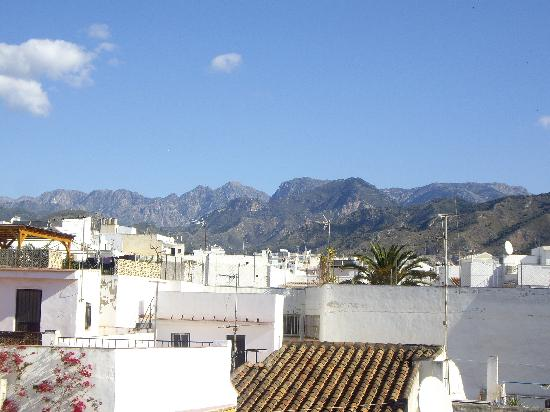 Hostal Miguel: One view from roof terrace