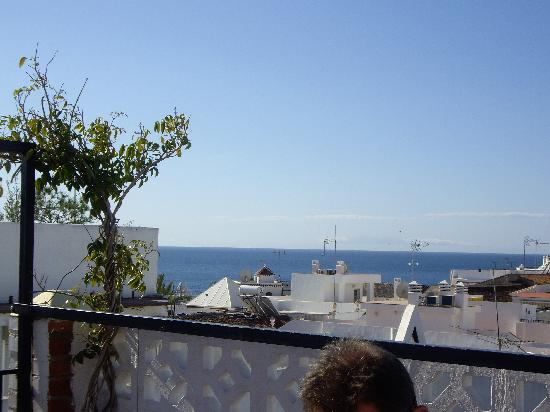 Hostal Miguel: The other view from the roof terrace