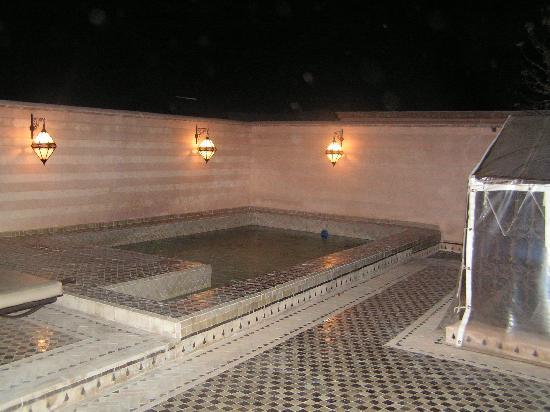 Riad et Dar Maison Do: Terrasse et piscine