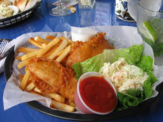 Angry Nate's: Fish and Chips