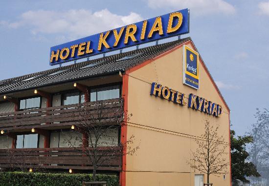 Kyriad Orly - Rungis: Façade de l'hôtel