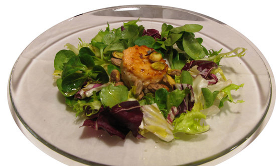 Chef Vary : Salmon with Pistacchio