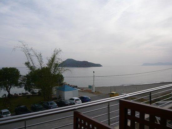 Porto Platanias Beach Resort & Spa: Utsikt fra balkong