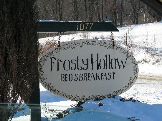 Frosty Hollow Bed & Breakfast: Frosty Hollow