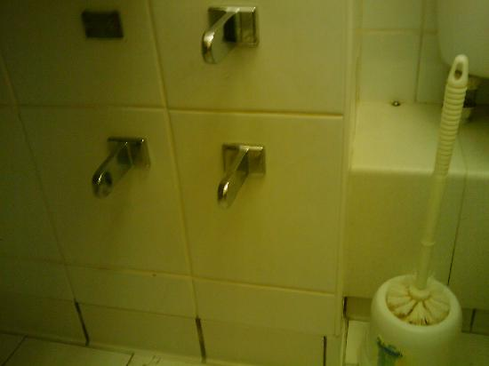 Fairways Lodge & Leisure Club: Toilet Roll Holders - Broken