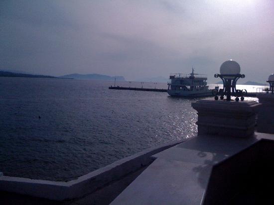Nissia: view from the veranda