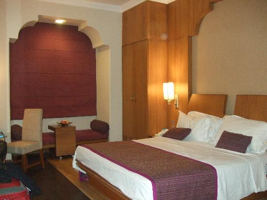 Heritage Village Resort & Spa Manesar : Our room with very comfy bed