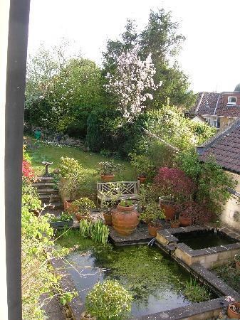The Bath Courtyard: View from room