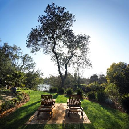 Milliken Creek Inn and Spa: Overlooking the idyllic Napa River
