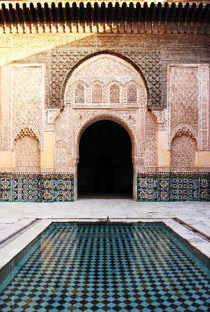 Marrakech Medresa Ben Youssef