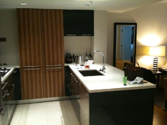 L'Hermitage Hotel: Kitchen 2