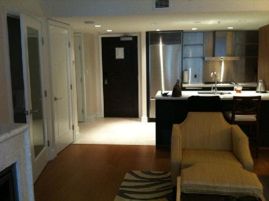 L'Hermitage Hotel: Living Room