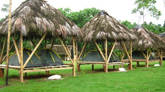 Pedernales, Ecuador: Camping