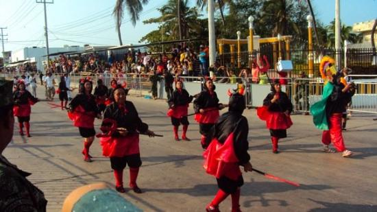 Barranquilla, Colombia: Bloco das satanicas!