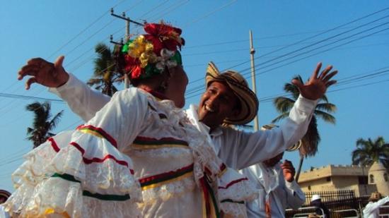 Barranquilla, Colombia: Mestre sala e porta bandeira